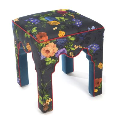 Covent Garden Accent Stool - Floral