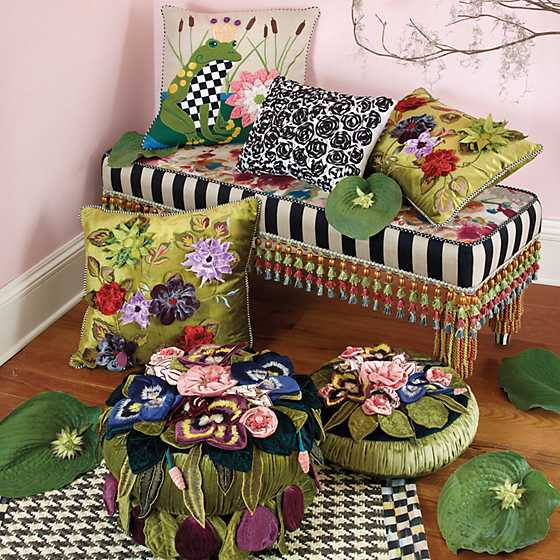 Moonlight Garden Footstool image two