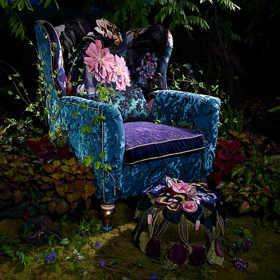 Moonlight Garden Footstool image five