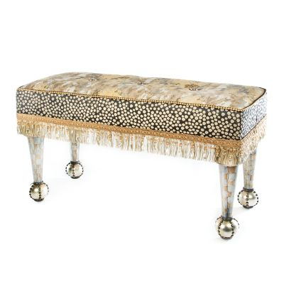 Golden Hour Chandelier Bench