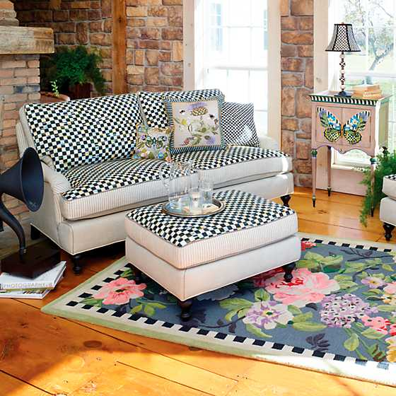 Underpinnings Studio Ottoman - Flax image four