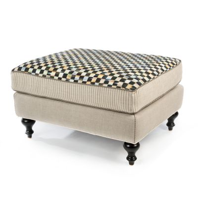 Image for Underpinnings Studio Ottoman - Flax