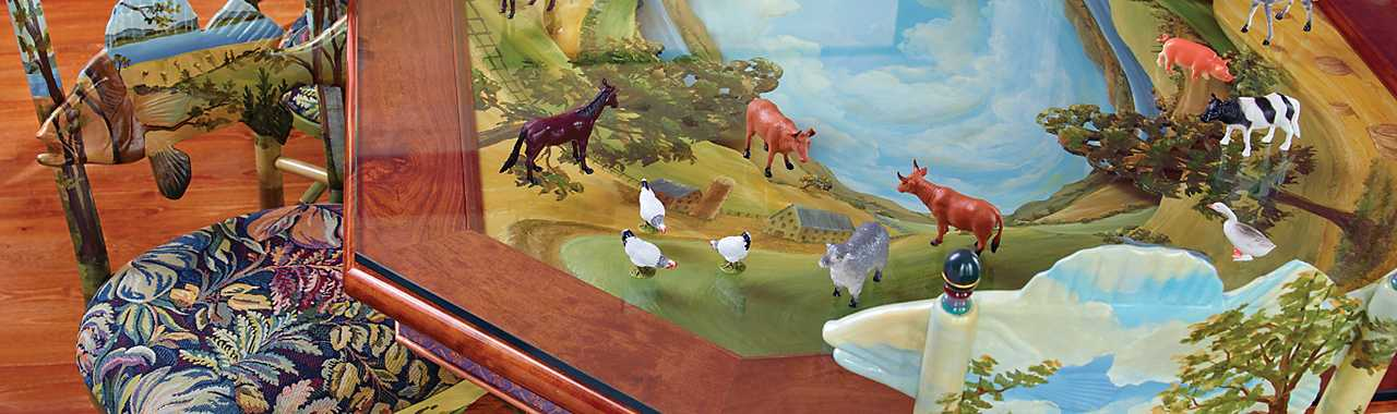 Diorama Dining Table for 8 Banner Image