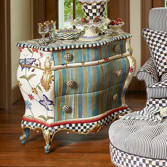 Hand Painted Furniture Pattern