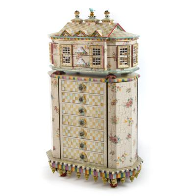 Chicken Palace Jewelry Armoire