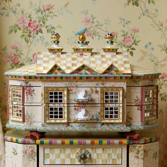 Mackenzie Childs Chicken Palace Jewelry Box