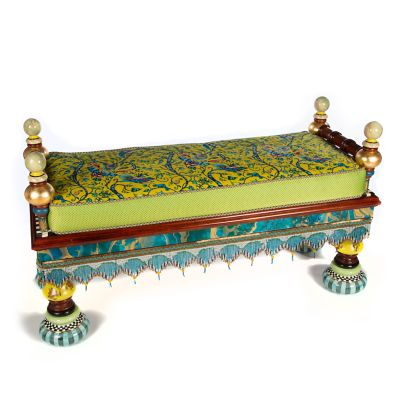 Ridiculous Peacock Bench