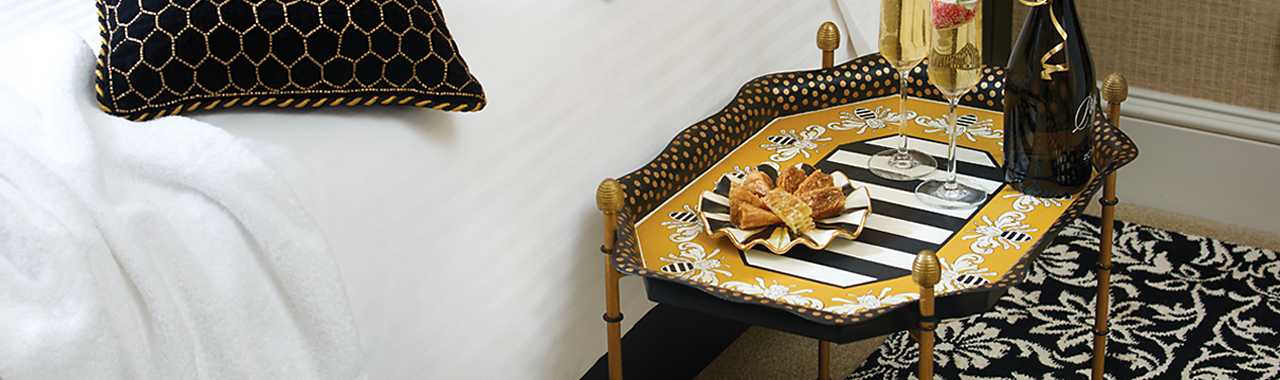 Queen Bee Tray Table Banner Image