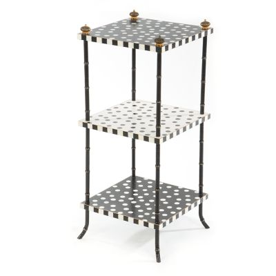 Dot Three Tier Table