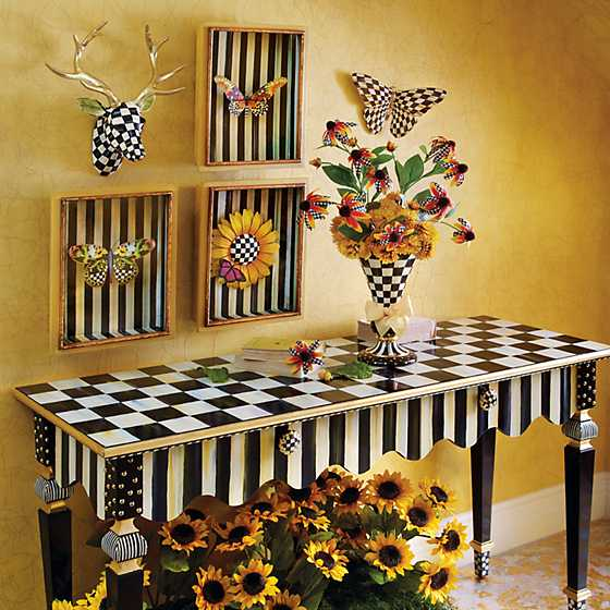 Courtly Stripe Console Table image nine