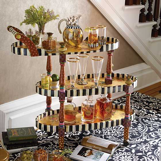 Bellhop Bar Cart image two