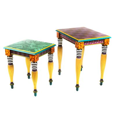 Image for Paradise Nesting Tables - Set of 2