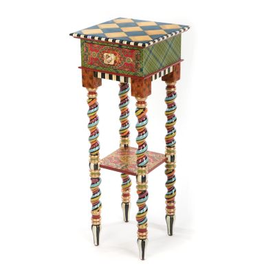 Barley Twist Table - Tall