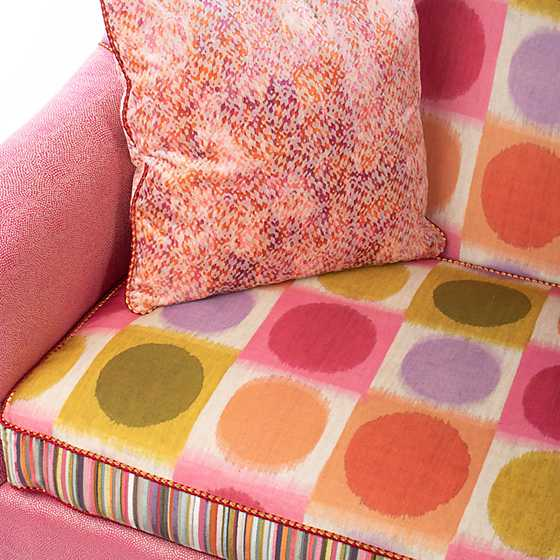 Super Pink Loveseat image four