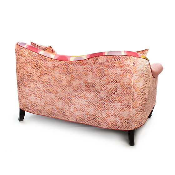 Super Pink Loveseat image three