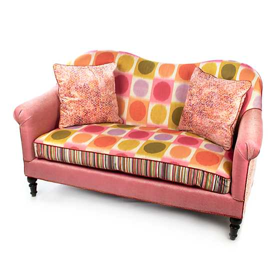 Super Pink Loveseat image one