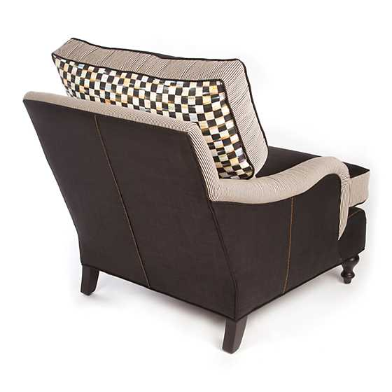 Underpinnings Studio Occasional Chair - Black image six