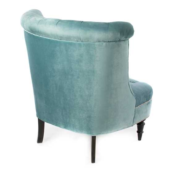 Farmhouse Accent Chair - Mint image three