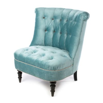 Farmhouse Accent Chair - Mint