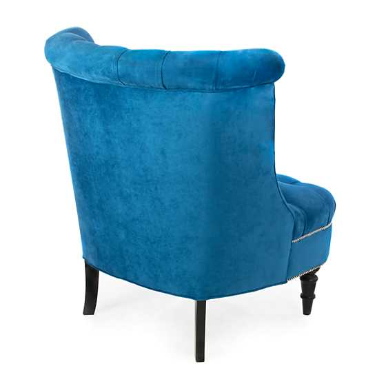 Farmhouse Accent Chair - Blueberry image three