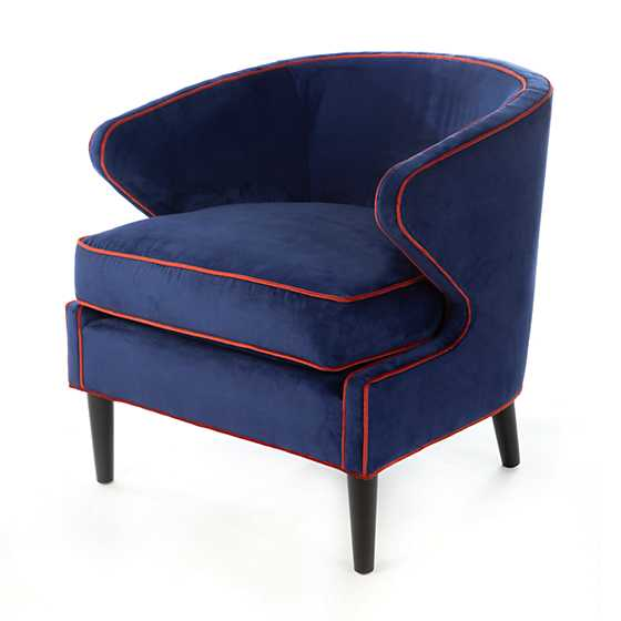 Marquee Accent Chair - Midnight