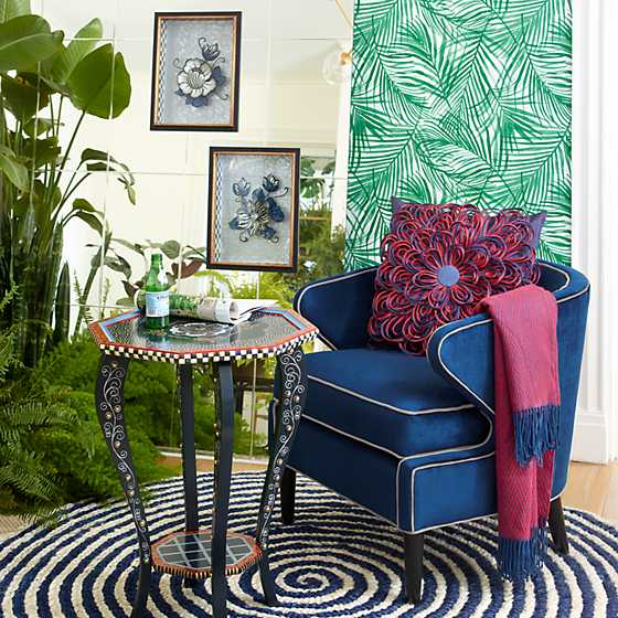 Marquee Accent Chair - Midnight image two