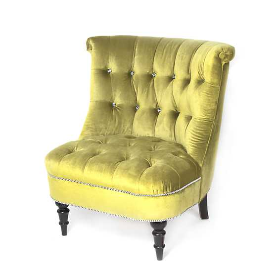 Farmhouse Accent Chair - Gooseberry image two