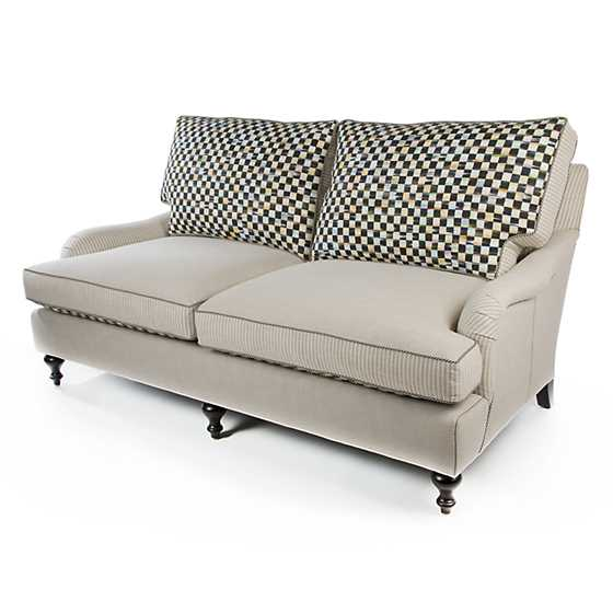 Underpinnings Studio Loveseat - Flax image five