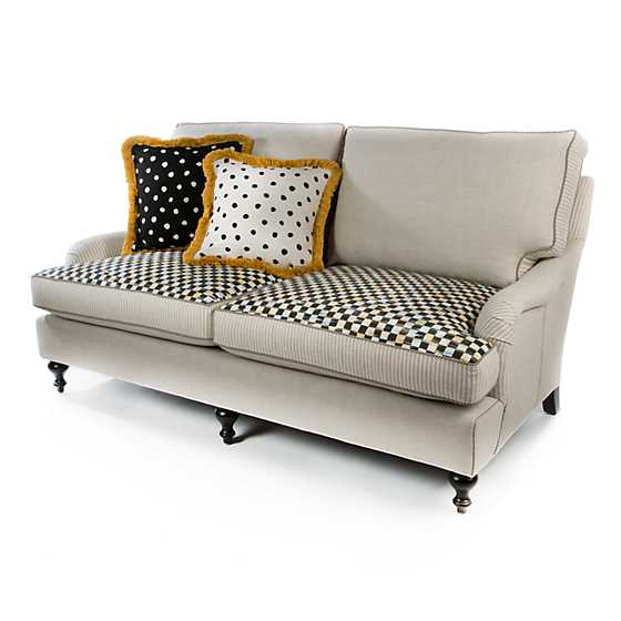 Underpinnings Studio Loveseat - Flax image three