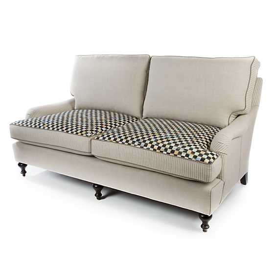 Underpinnings Studio Loveseat - Flax