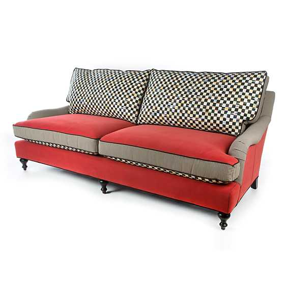 Underpinnings Studio Sofa - Tomato image four