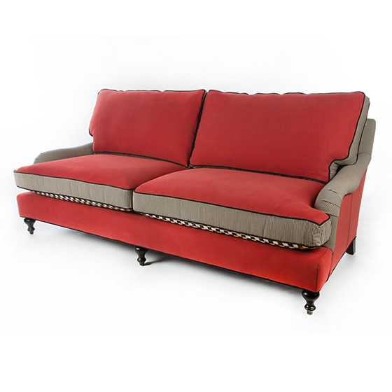 Underpinnings Studio Sofa - Tomato image five