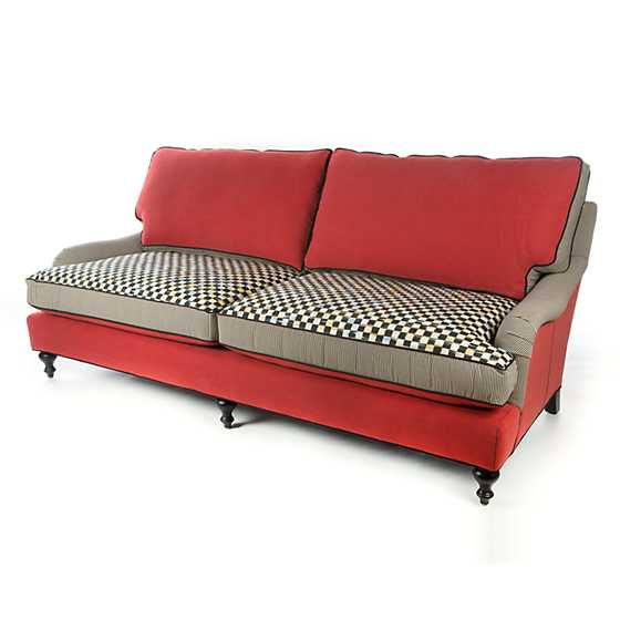 Underpinnings Studio Sofa - Tomato image three