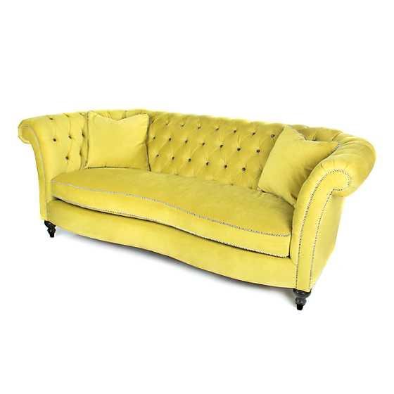 Marvelous Mackenzie Childs Farmhouse Sofa Green Grape Ibusinesslaw Wood Chair Design Ideas Ibusinesslaworg
