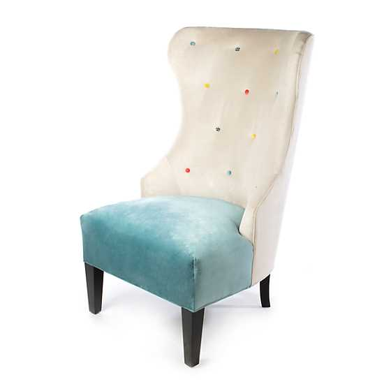 Cream at the Top Hostess Chair - Mint