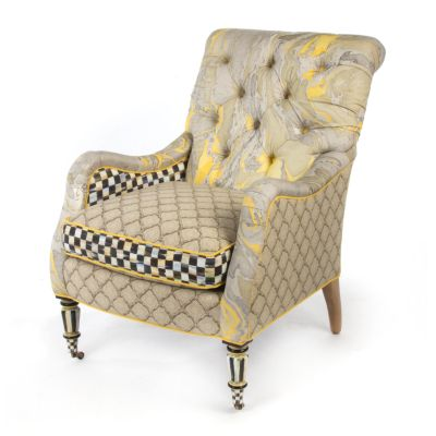 Courtly Palazzo Accent Chair