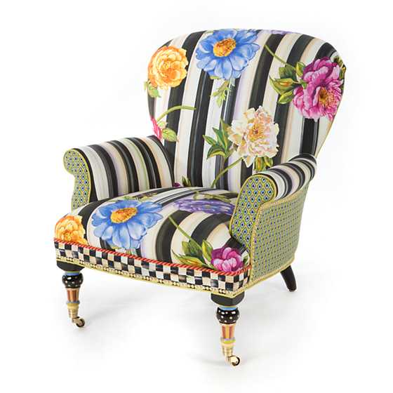 Cutting Garden Accent Chair  sc 1 st  MacKenzie-Childs & MacKenzie-Childs | Cutting Garden Accent Chair
