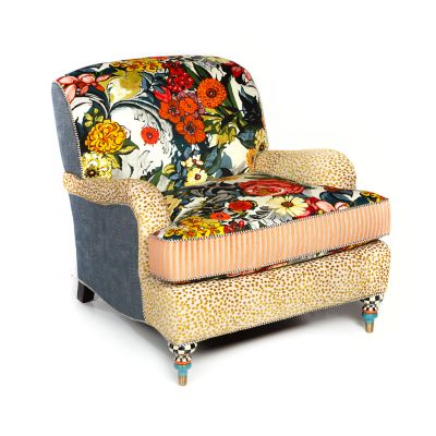 Image for Painted Garden Accent Chair