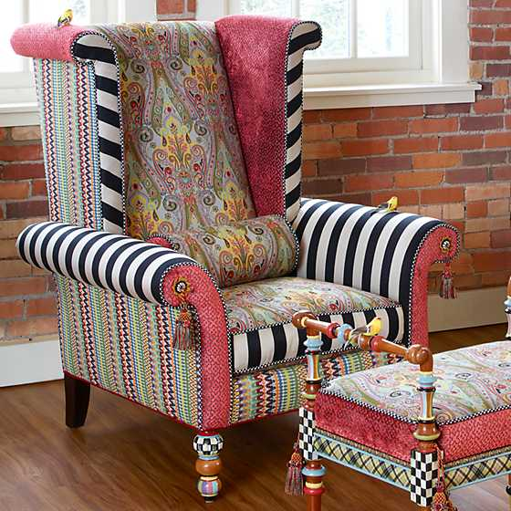 Musette Wing Chair image two