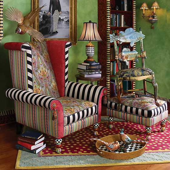 Musette Wing Chair image seven