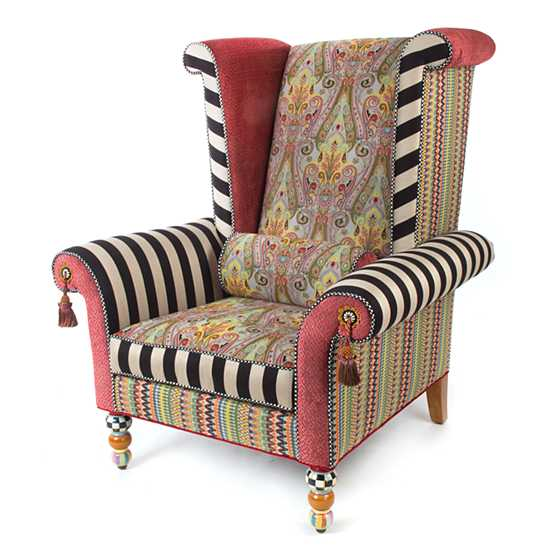 Musette Wing Chair image four