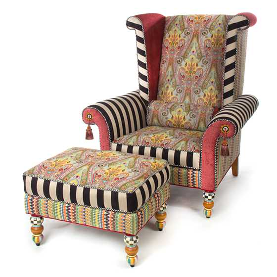 Musette Wing Chair image three