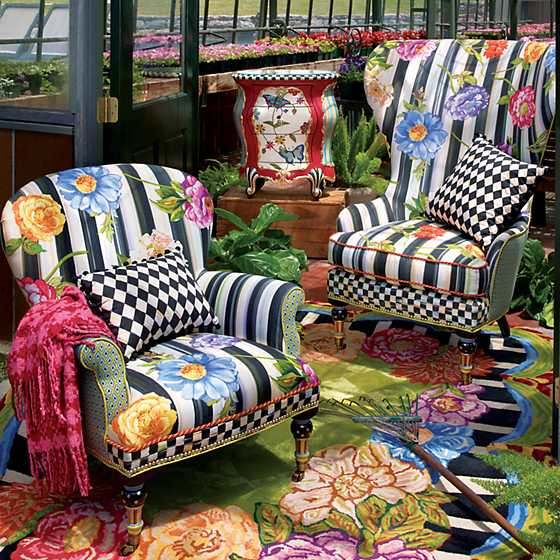 Cutting Garden High Back Wing Chair image six