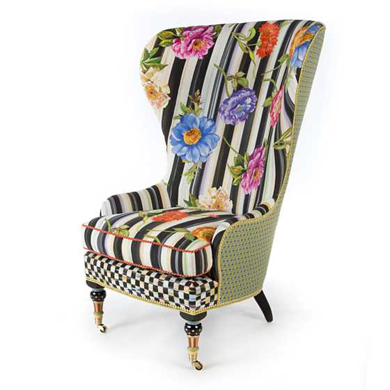 Images Cutting Garden High Back Wing Chair