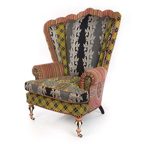 Kensington Wing Chair image three