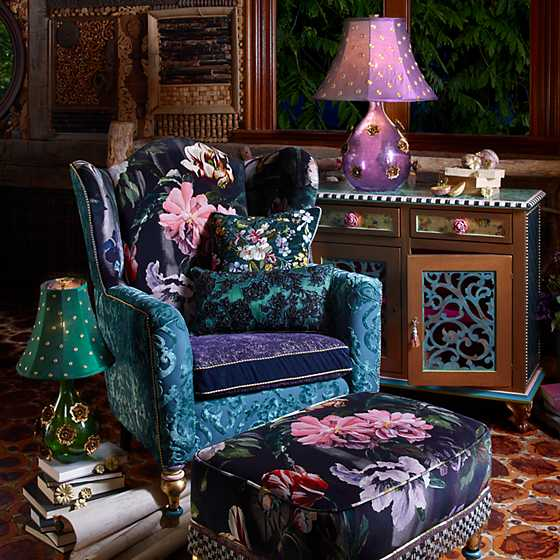 Moonlight Garden Off the Record Wing Chair image two