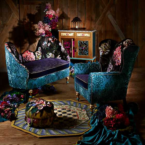 Moonlight Garden Off the Record Wing Chair image seven