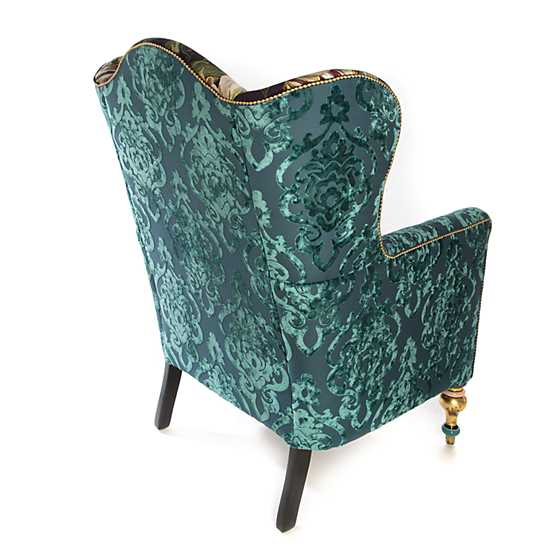 Moonlight Garden Off the Record Wing Chair image four
