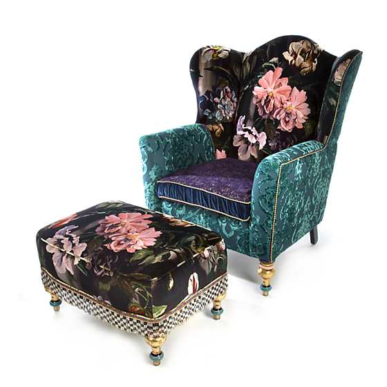 Moonlight Garden Off the Record Wing Chair image three