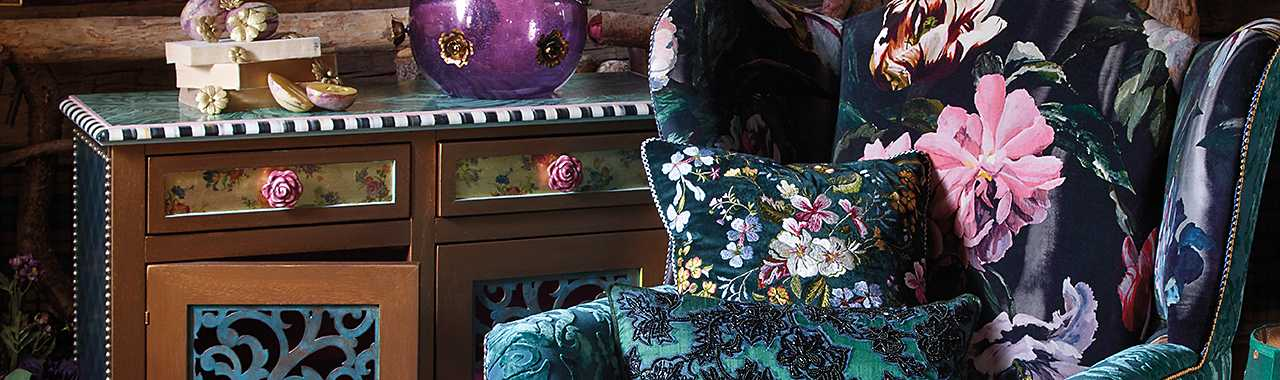 Moonlight Garden Off the Record Wing Chair Banner Image